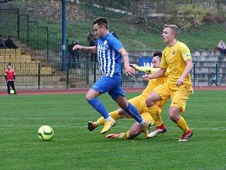 Arsenal Česká Lípa - Chrastava 4:3 (2:3).