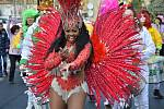 Masopust v duchu brazilského karnevalu v Novém Boru