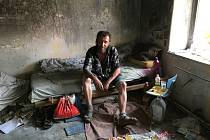 Bezdomovec Pepa.