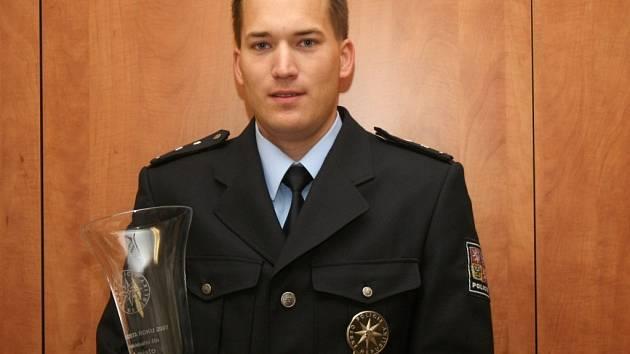 Oceněný policista Michal Šíf.