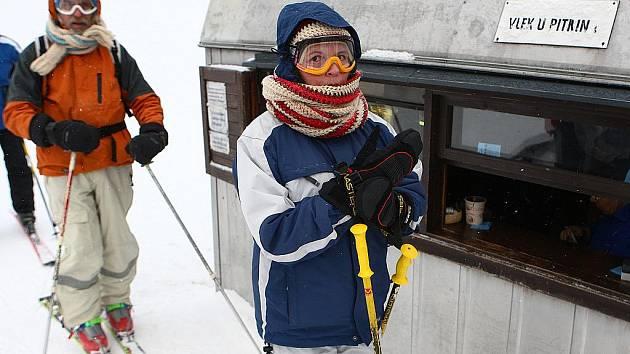 V Horní Světlé jsou na sezonu připraveni. Už jen čekají jen na pořádnou sněhovou nadílku.
