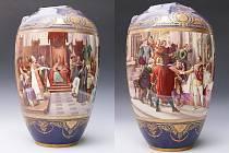 """S vázou se mohli návštěvníci novoborského muzea seznámit již v letech 2013 a 2014 během výstavy """"120 let muzea""""."""
