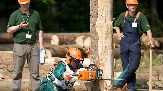 Největší lesnickou akcí v republice byl tradiční Lesnický den ve Skelné Huti v Ralsku