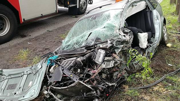Dopravní nehoda u Svoru.