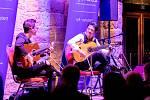 Fenomenální flamencové duo kytaristů Jana Pascala a Alexandra Kiliana Café del Mundo.