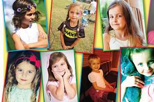 ADÉLA, ANIČKA, DIANA NEBO DOMINIKA. To jsou malé slečny, které budou soutěžit o titul Sluníčko Deníku, a které můžete vidět na fotografiích. Je to ale jen výběr z těch, jež rodiče dosud do soutěže Deníku přihlásili.