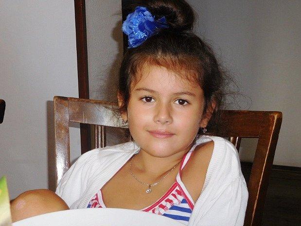 1. Sofie Velasco - 7let, Nový Bor.