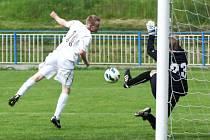 Sedmihorky – Doksy 3:4. Dva góly hostujících zařídil Tomáš Jurčik.