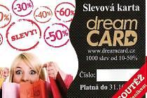 Slevová karta Dreamcard.