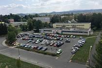 Nejpravděpodobnějším místem budoucí výstavby parkovacího domu je současné parkoviště na Slovance vedle ulic Železničářská a Antonína Sovy.