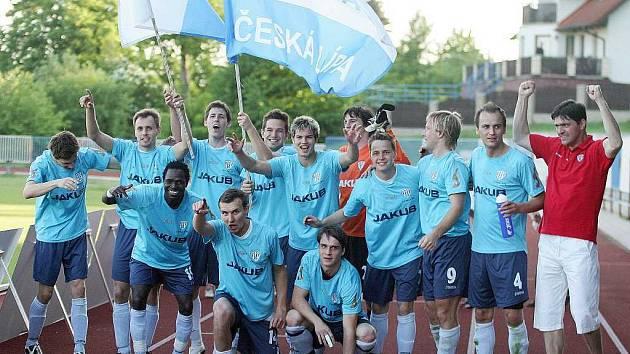 Fotbalisté českolipského Arsenalu.