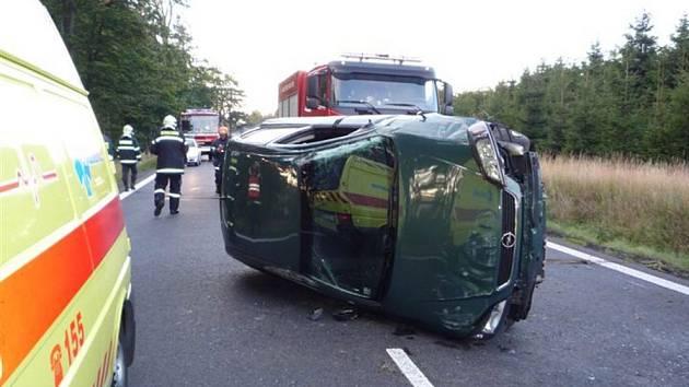 Dopravní nehoda ve Svoru nebyla v sobotu na silnici I/9 jediná.