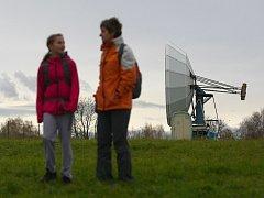 Observatoř a telemetrická stanice Panská Ves u Dubé pořádala v sobotu den otevřených dveří.