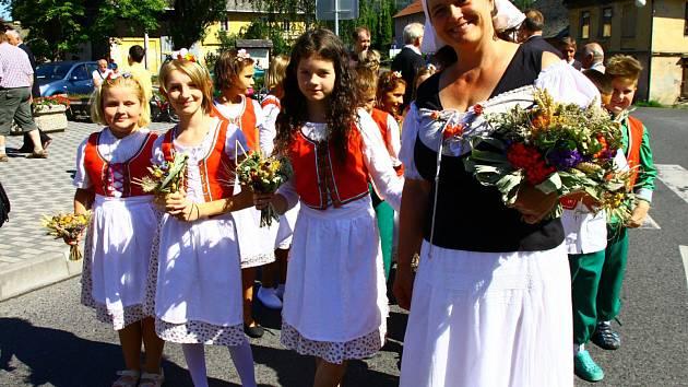 Tradiční slavnost Dožínek v Brništi se po obnovení tradice uskutečnila už počtvrté.