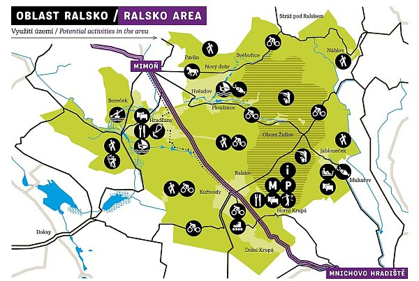 Sport a zábava, na to chtějí lákat soukromí investoři vbudoucnu do největšího geoparku vrepublice do Ralska.