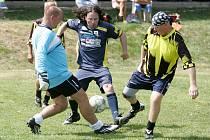 Tým Arabely prohrál se starou gardou Oken na penalty.