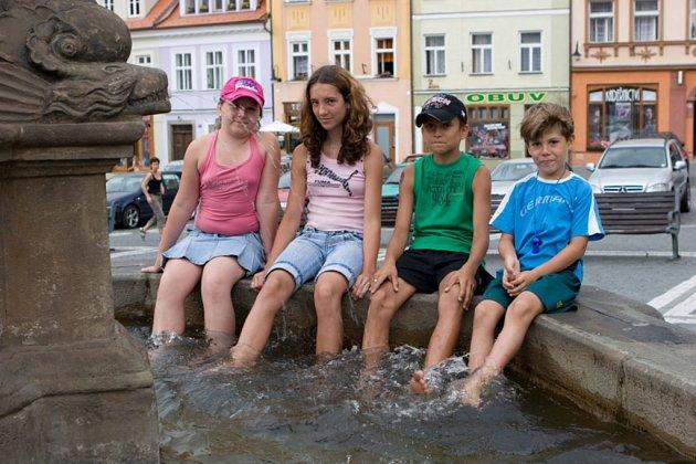 Děti v Českolipské Kašně