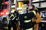 V úterý krátce po desáté hodině vyjížděli hasiči do Hamru na Jezeře, kde ve firmě, zabývající se likvidací nebezpečného odpadu, došlo při pracovní činnosti k úniku nebezpečných látek do ovzduší.
