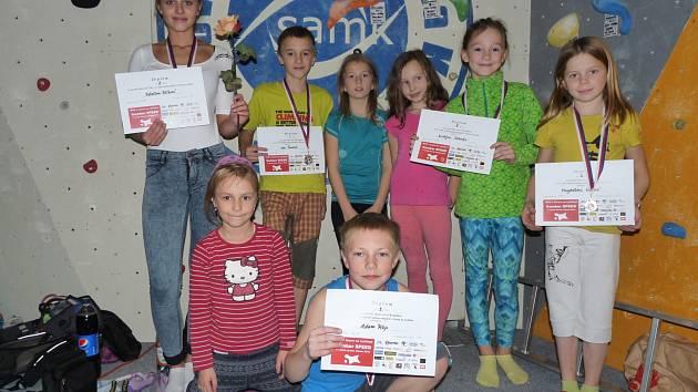 Třetí generace lezců SK Nový Bor uspěla v Kladně.