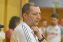 Karel Kruliš - trenér futsalového týmu Démoni Česká Lípa.