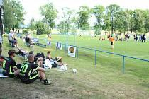 Fotbalový turnaj ve Skalici u České Lípy. Ilustrační foto.