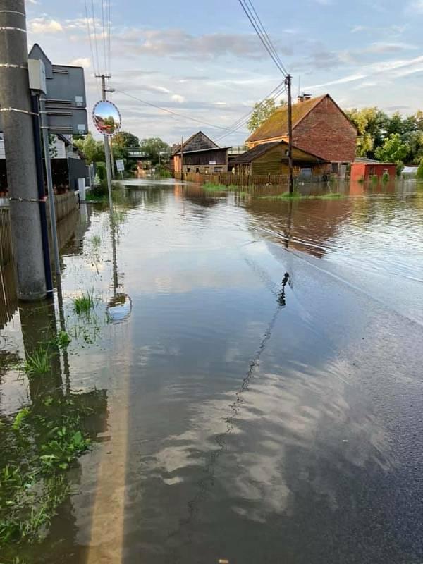 Situace v Dobranově.