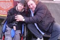 Zdenda Kmoch si užil čtvrt hodiny s hercem Gerardem Depardieu.