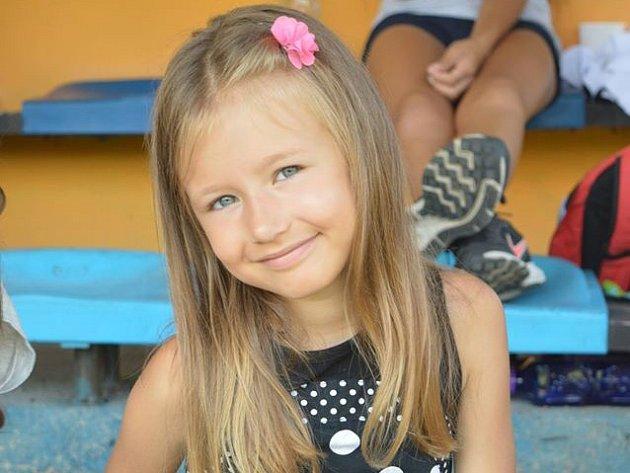 8. Valerie Turzová - 6let, Kamenický Šenov.