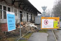V České Lípě odstartovala obří modernizace hlavního vlakového nádraží.