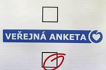 V České Lípě proběhla současně s krajskými volbami anketa, která měla zjistit, jaké investice občané chtějí.