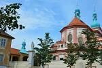 Kostel Navštívení Panny Marie v Horní Polici.