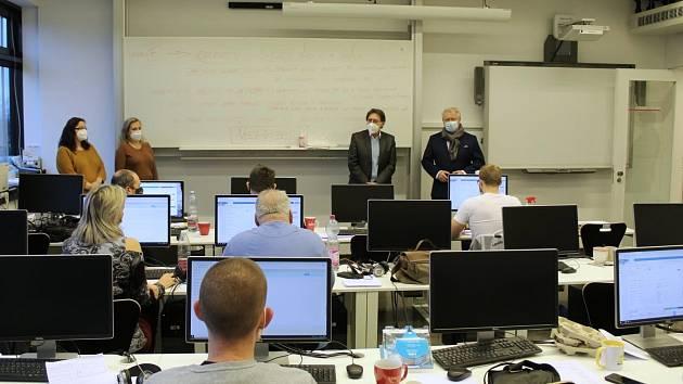 Policisté z ředitelství pro Liberecký kraj se zapojili do trasování