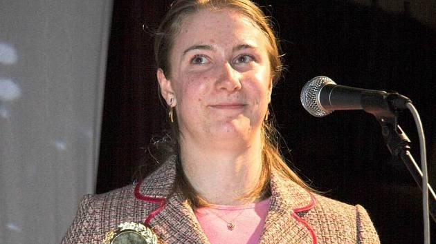Loňská vítězka Lucie Vaníčková, atletka oddílu SK ZŠ Jablonné v Podještědí.