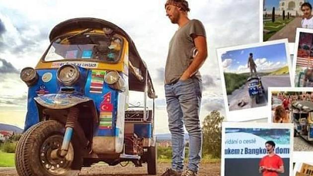 Tomík na cestách - Tuktukem z Thajska až na Moravu.