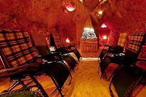 Solná jeskyně u Marušky.