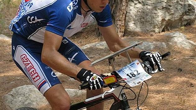 Jeden z favoritů mistrovství, český reprezentant Martin Ševčík.