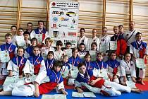 Prvního nominačního Regionálního poháru se zúčastnili karatisté z klubu Sport Relax.