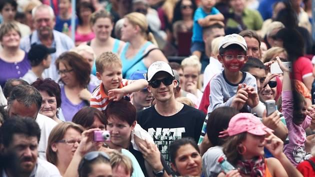 Na českolipských slavnostech se každoročně baví tisíce návštěvníků.