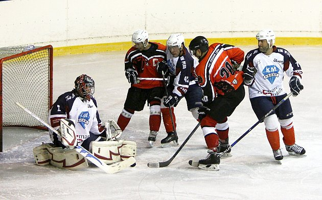 HC Česká Lípa - HC Slavoj Liberec 4:5 (0:3, 1:0, 3:2).