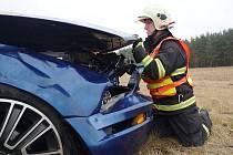 Páteční nehoda u Jestřebí.