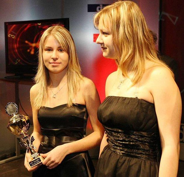 Na šestém místě v mládežnické kategorii se umístila manušická střelkyně Aneta Brabcová (vlevo).
