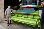 Farmář Pavel Sixta obdělává 1200 hektarů. Tuhaň