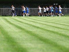 Stavba hřiště je jedním z prvních kroků několik let plánované modernizace hlavního stadionu u Ploučnice.