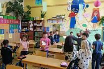 Školáci z Dubé oslavili svátek všech zvířat.