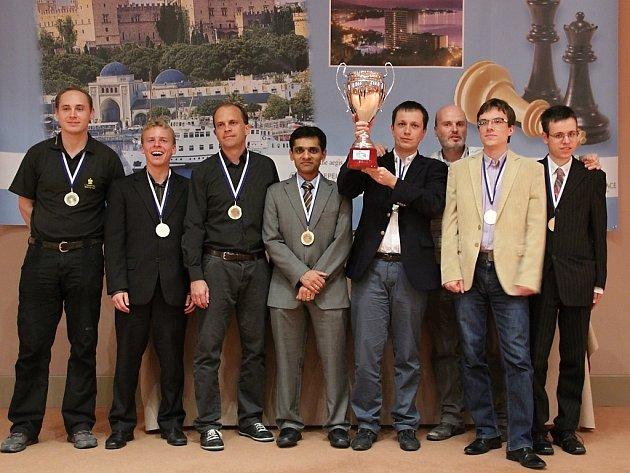 Novoborští šachisté popáté v řadě vyhráli extraligu a zlato přivezli i z Evropského klubového poháru.