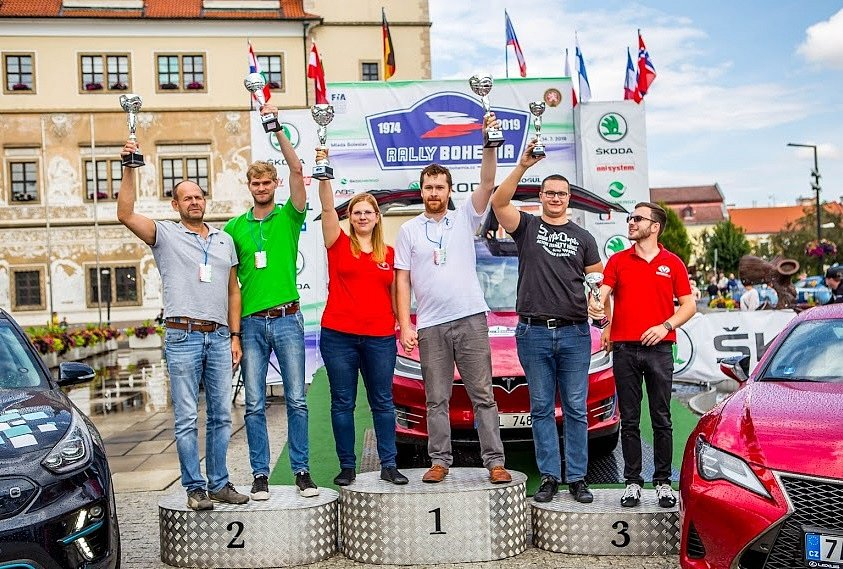 ECO energy Rally Bohemia pro posádku Walter Kofler a Franco Gaioni.
