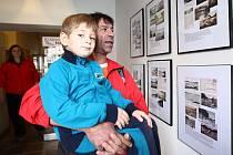 Výstavu si prohlédli dospělí i malí návštěvníci