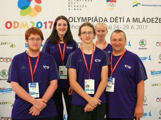 Střelci z Libereckého kraje reprezentovali na LODM 2017.