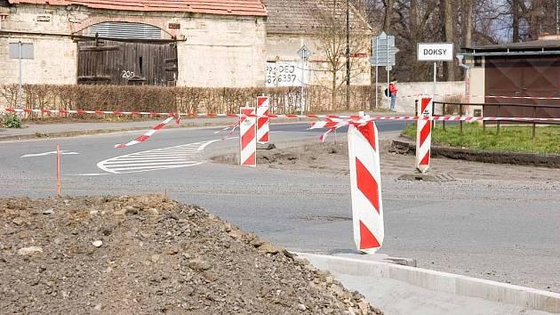 Stavba se bude podobat křižovatce v Jestřebí