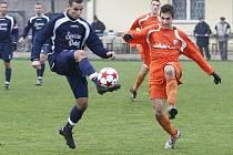 Ovčáry hostily českolipský Arsenal. Domácí tým vyhrál 2:1.